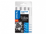 Pilot Pintor 4 Piece White Set - Mixed Sizes